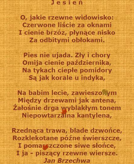Isabella Radziwiłł On Twitter Jesień Jan Brzechwa Https