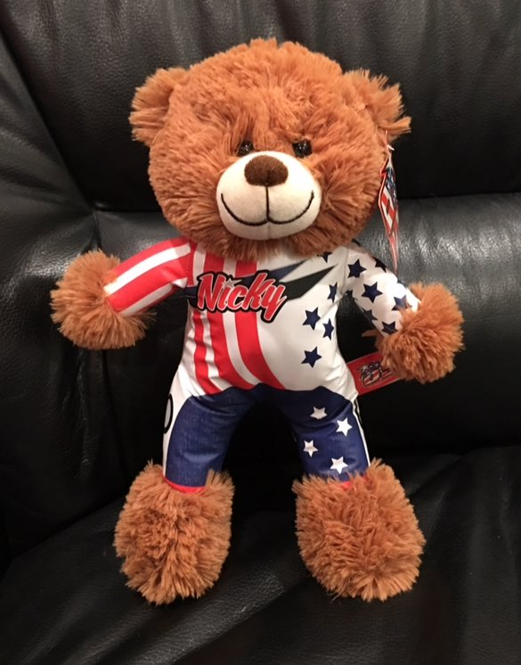 Limited Edition @NickyHayden bear is now available on our website! Great gift for the kiddos!