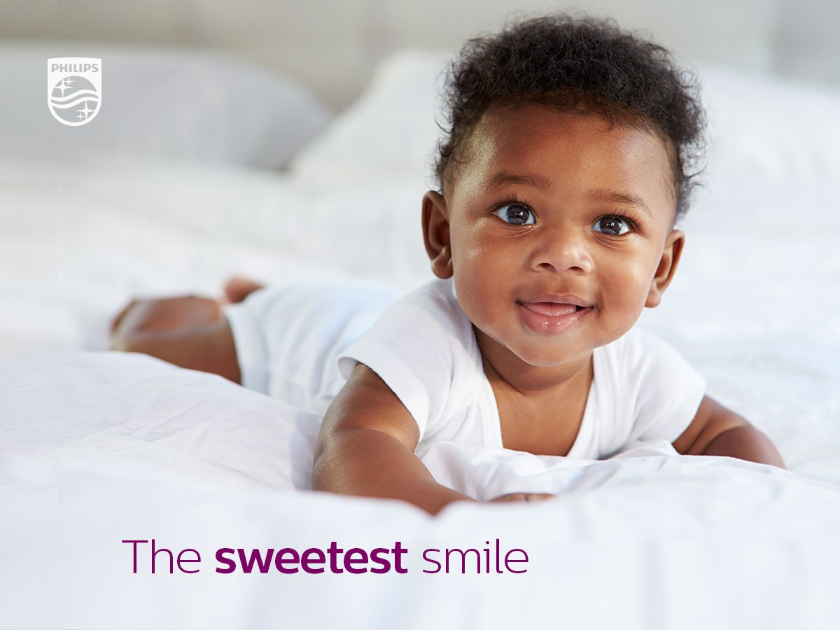 Happy #WorldSmileDay! Does your #baby smile after feeding? Share a photo of your baby's gummy grin to celebrate 👶