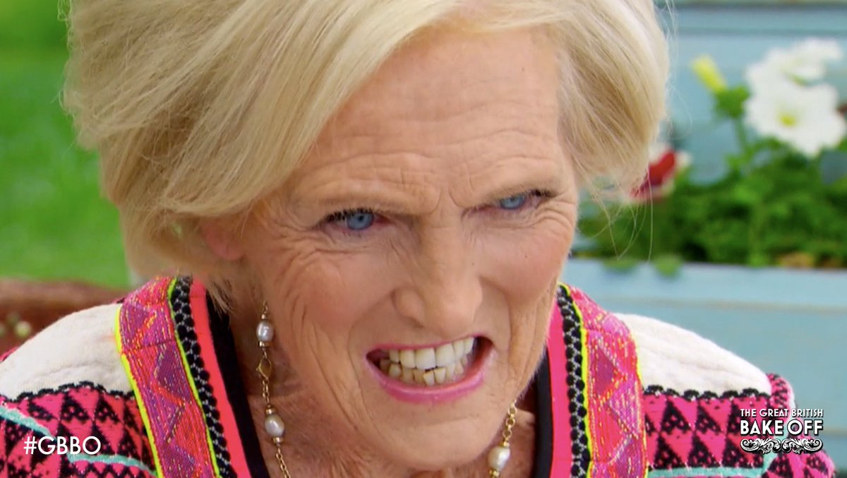 When Mary Berry sees the layers… #DessertWeek #GBBO