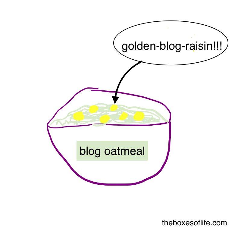Blog oatmeal vs golden blog raisins