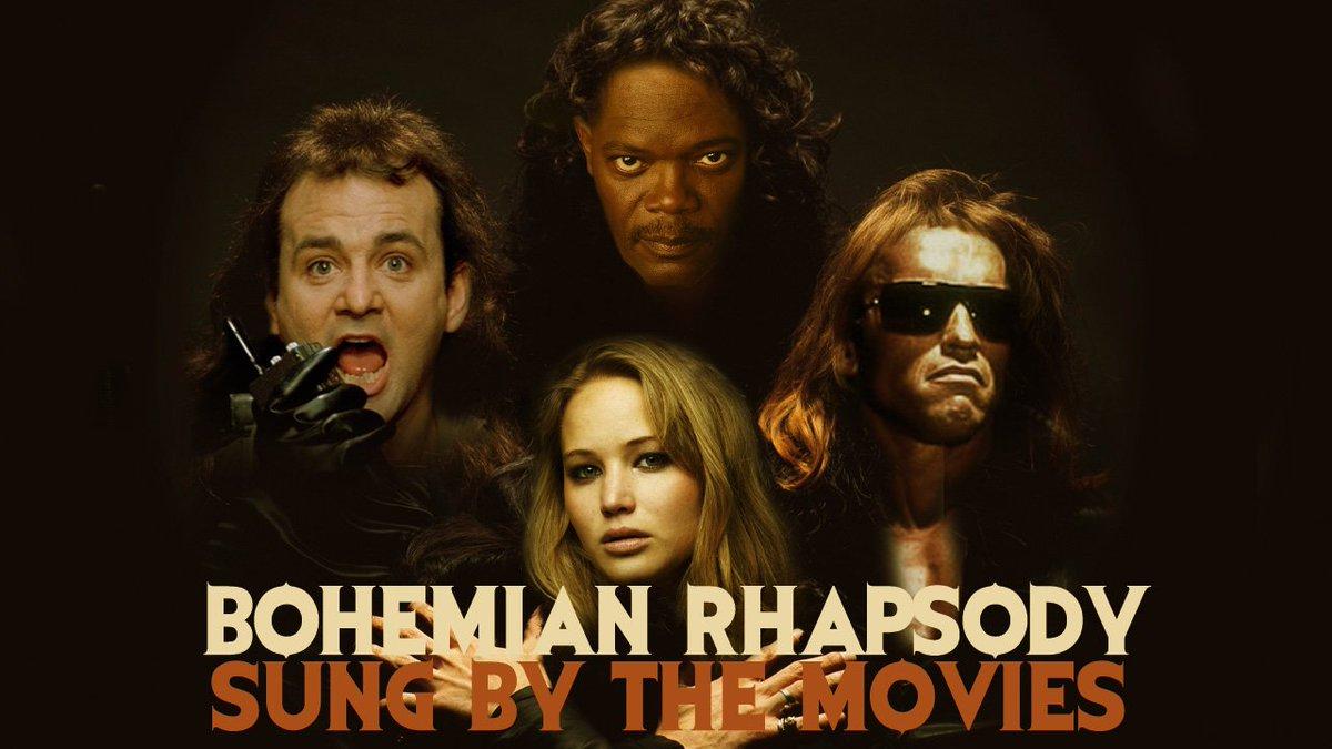 RT @Coponfilms Bohemian Rhapsody - Sung By 260 Movies #Queen #BohemianRhapsody #movies https://t.co/9XQR4hmwBw