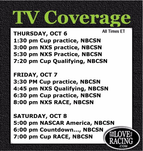 This weekend's #NASCAR TV Schedule... RT so you'll have it on your own profile for ez reference! https://t.co/w92i6uMlEA