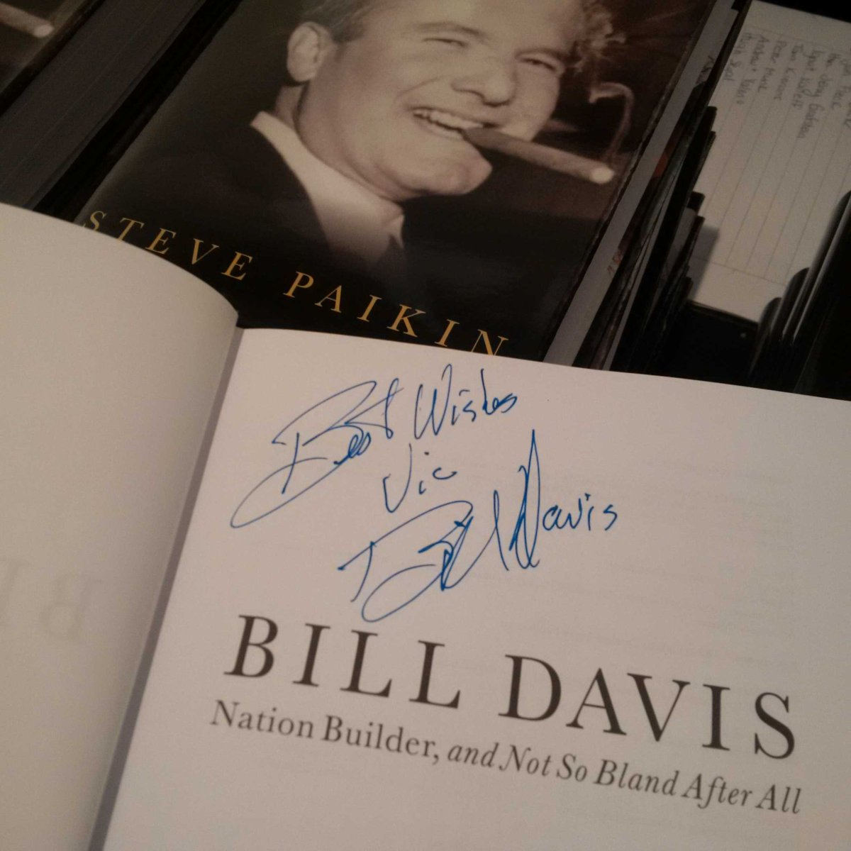 Nation Builder Bill Davis and Not So Bland After All