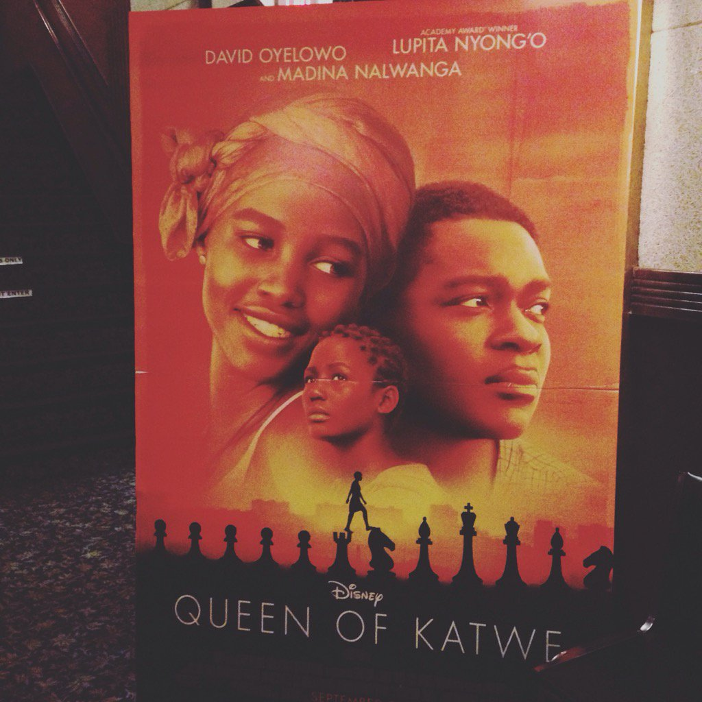 Moving. inspirational. I sobbed. #52filmsbywomen #womeninfilm brilliant Mira Nair and @Lupita_Nyongo & cast
