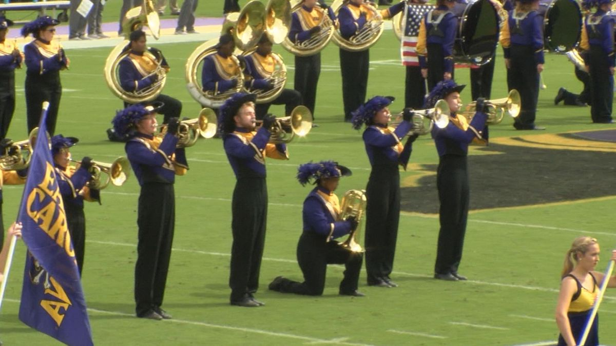NC NAACP responds to ECU Marching Pirate's protest controversy https://t.co/UEXd1WIwar https://t.co/1Mm9o6CFTd