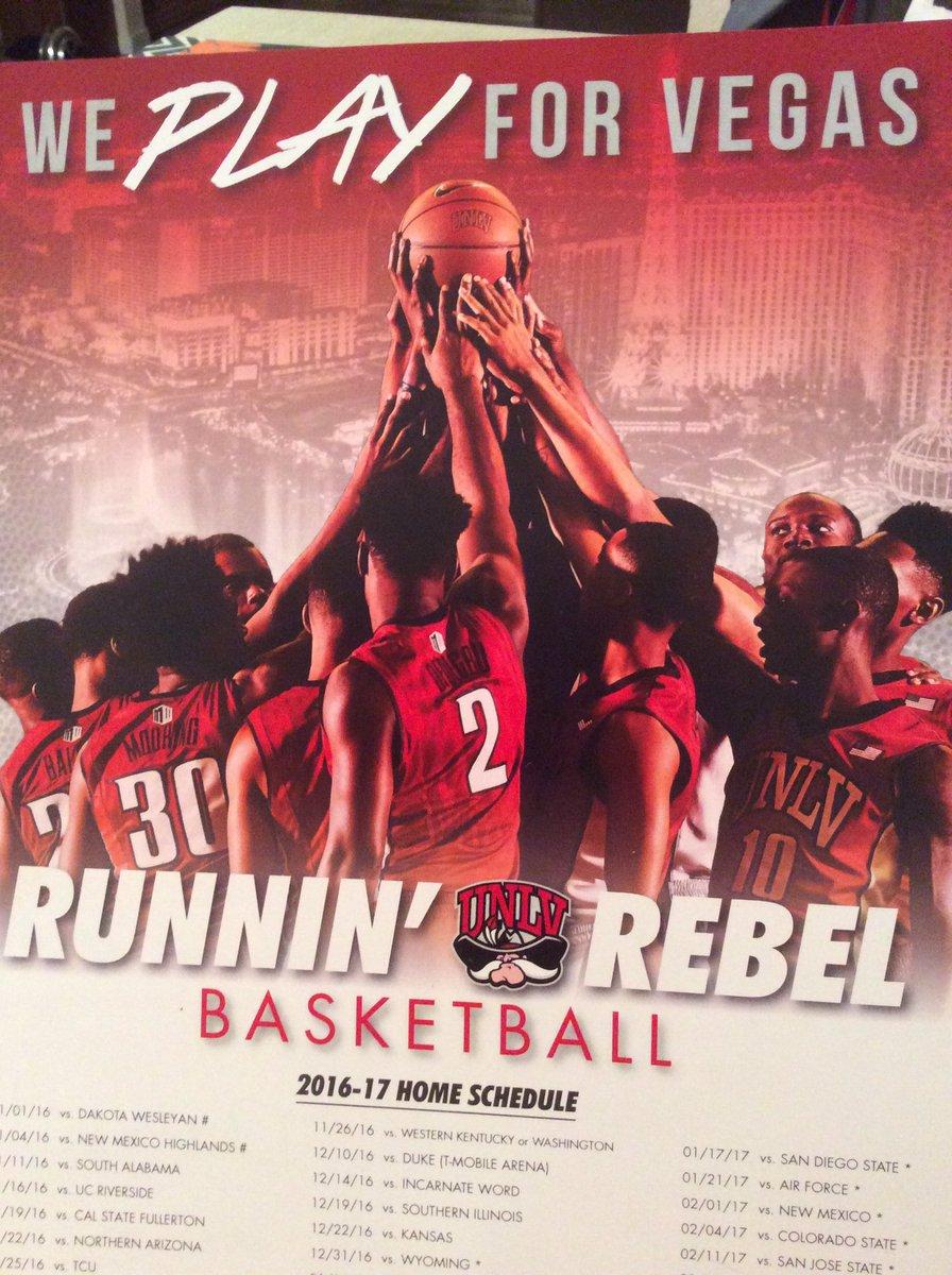 This year's #unlvmbb slogan- We Play For Vegas! https://t.co/0Ej5RJnJFX