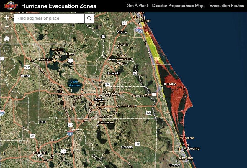 Due to #HurricaneMatthew, @NASAKennedy is under mandatory evac. Good luck & Godspeed to everyone on the Space Coast.