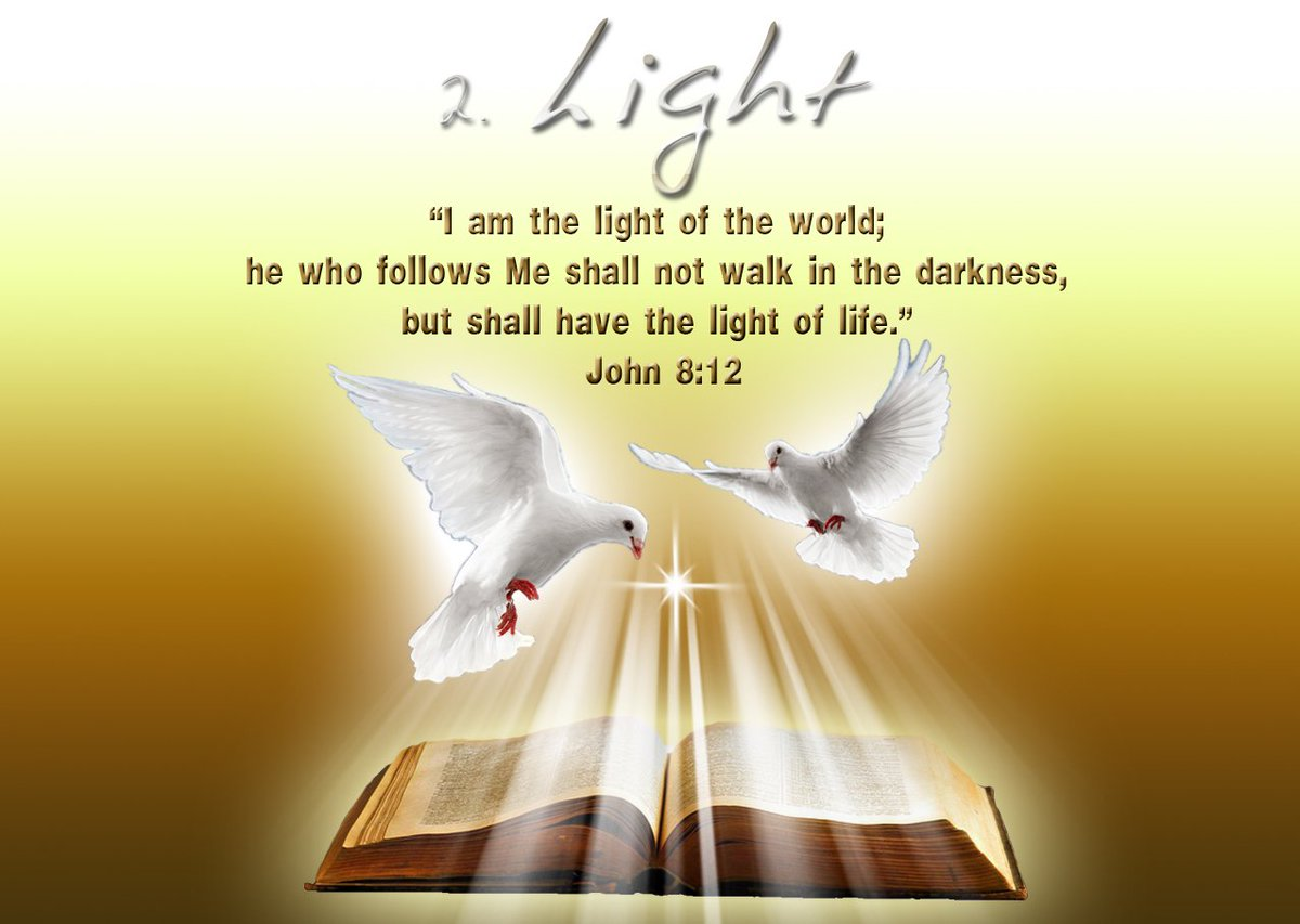 jesus i am the light of the world When jesus spoke again to the people, he said, i am the light of the world whoever follows me will never walk in darkness, but will have the light of life.