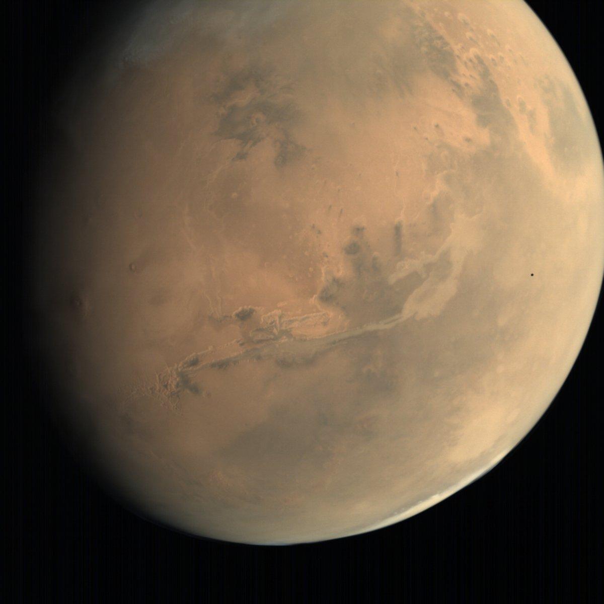 Resultado de imagen para Tránsito de Deimos desde Marte