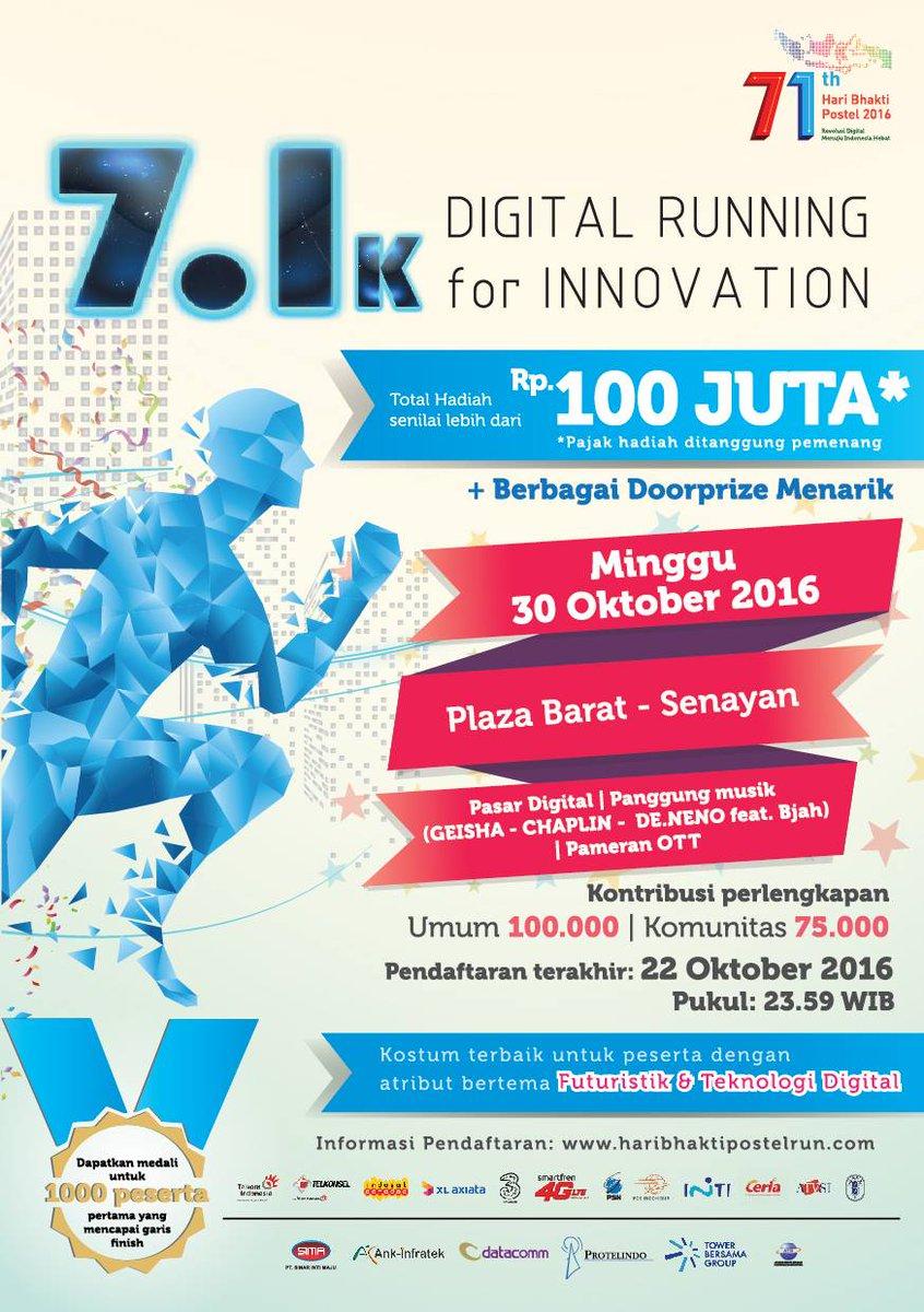 Digital Running for Innovation 2016