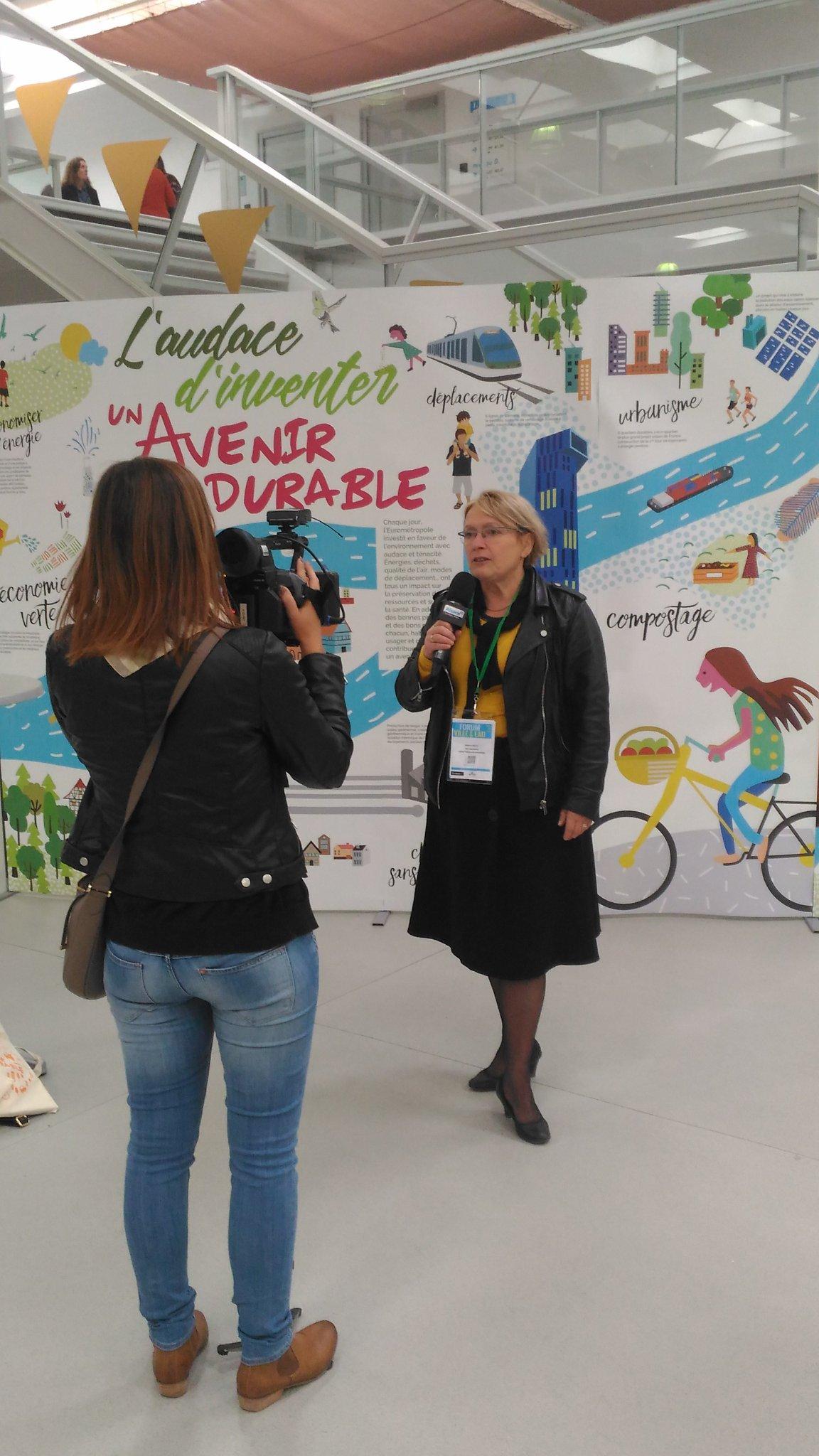 Béatrice Bulou invitée de @alsace20 pour le forum #villeeteau @strasbourg  avec @agence_eau_RM https://t.co/RIk1etVfDx