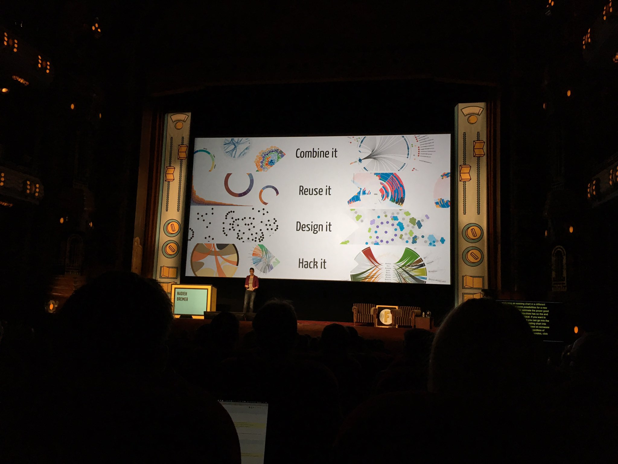 That was an amazing talk by @NadiehBremer on how to do dataviz properly! #fronteers https://t.co/PmS3g9DUNT