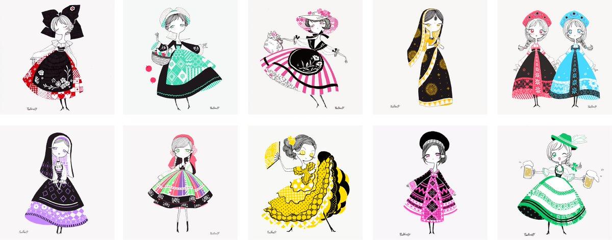 「世界の民族衣装」の画像検索結果
