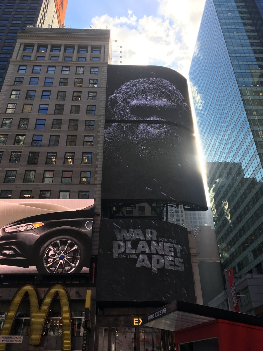 #TimesSquareApes https://t.co/7NC9XTldIc