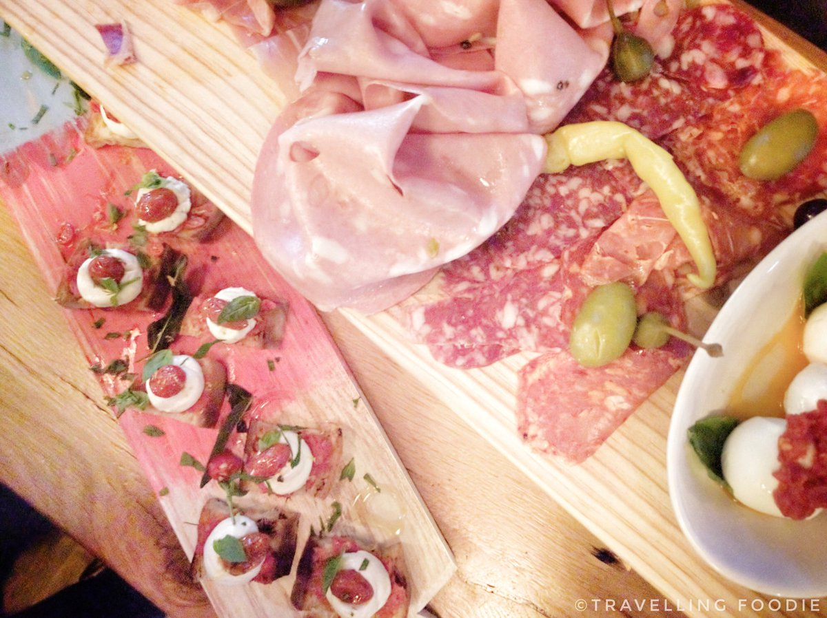 Classic Meat Plank at Jamie Oliver Italian Yorkdale