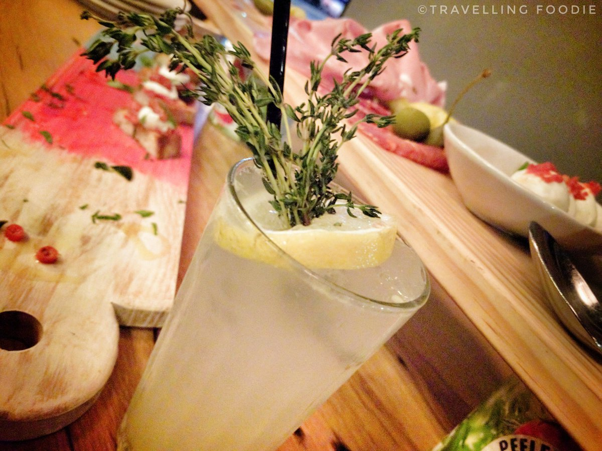 Travelling Foodie Drinks Amalfi Collins at Jamie's Italian Yorkdale in Toronto