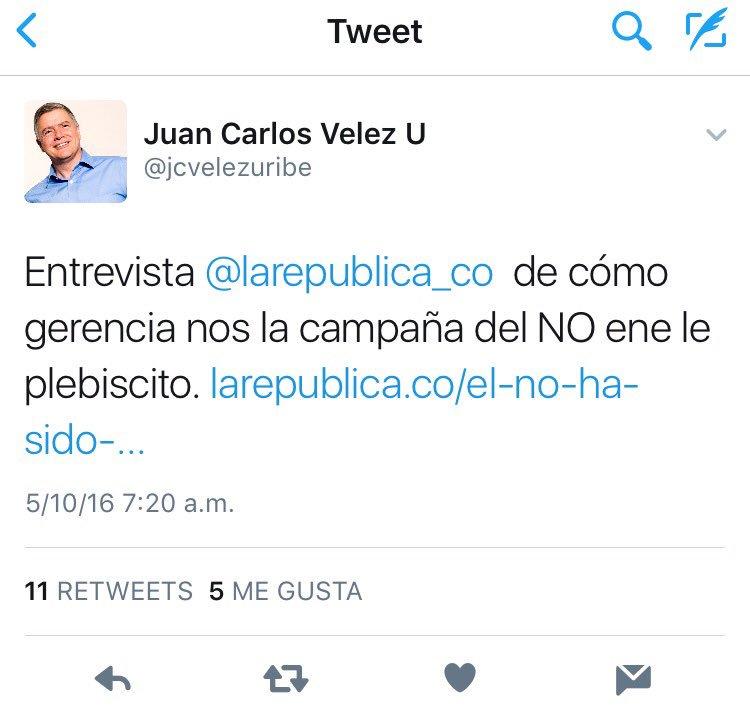 @AlvaroUribeVel @Alejandro23A @WRadioColombia a él no le pareció tergiversada la publicó muy orgulloso https://t.co/Gmr6XXYTQY