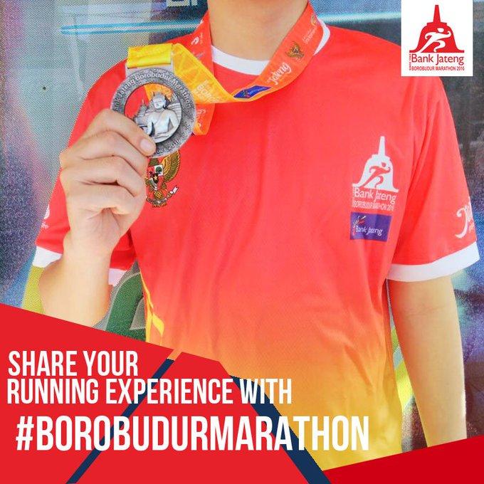 Borobudur Marathon ~ 2016