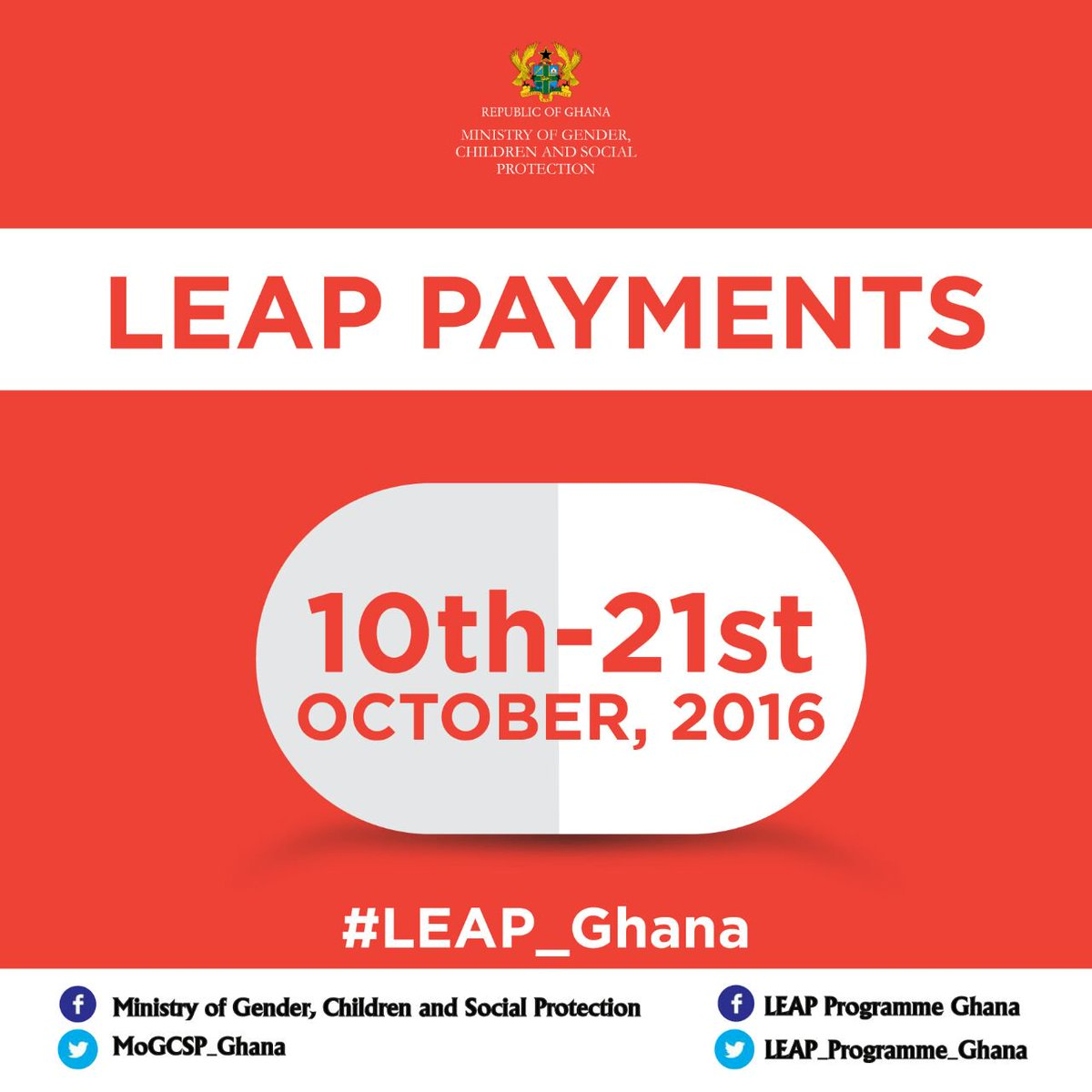 From next week, 212,848 LEAP households in all the 216 districts of Ghana will be paid their cash grant.