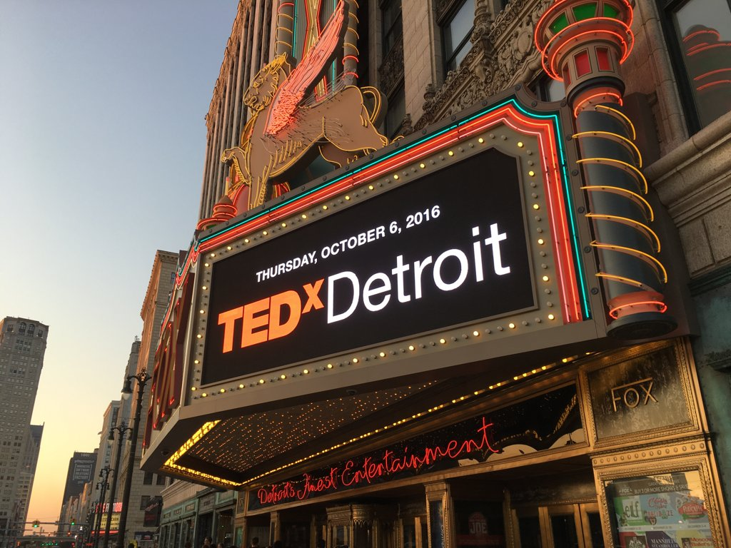 Good morning! Let's do this! #TEDxDetroit #Tedx Detroit https://t.co/WFqVaBIANo