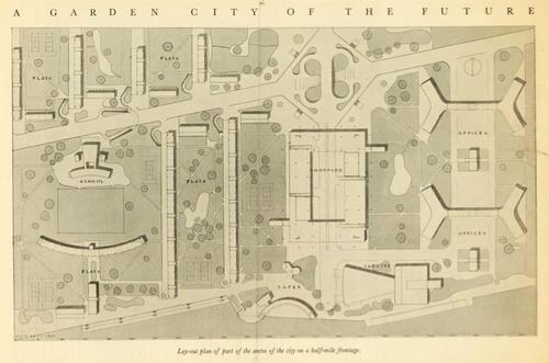 Angel Muiz on Twitter Garden City of the Future 1936 at