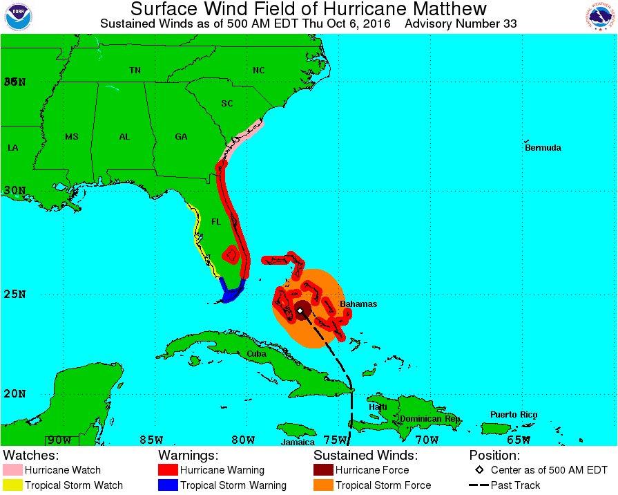 Hurricane Matthew Southeast Coast Discussion Thread - Page 2 CuFeZV5WcAAK0xb