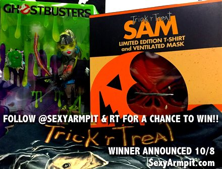 Follow @sexyarmpit & RT for the chance to win our #Halloween giveaway! Winner announced 10/8! https://t.co/hOWQvR4k1M