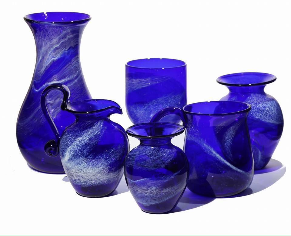 Bristol Blue Glass Wine