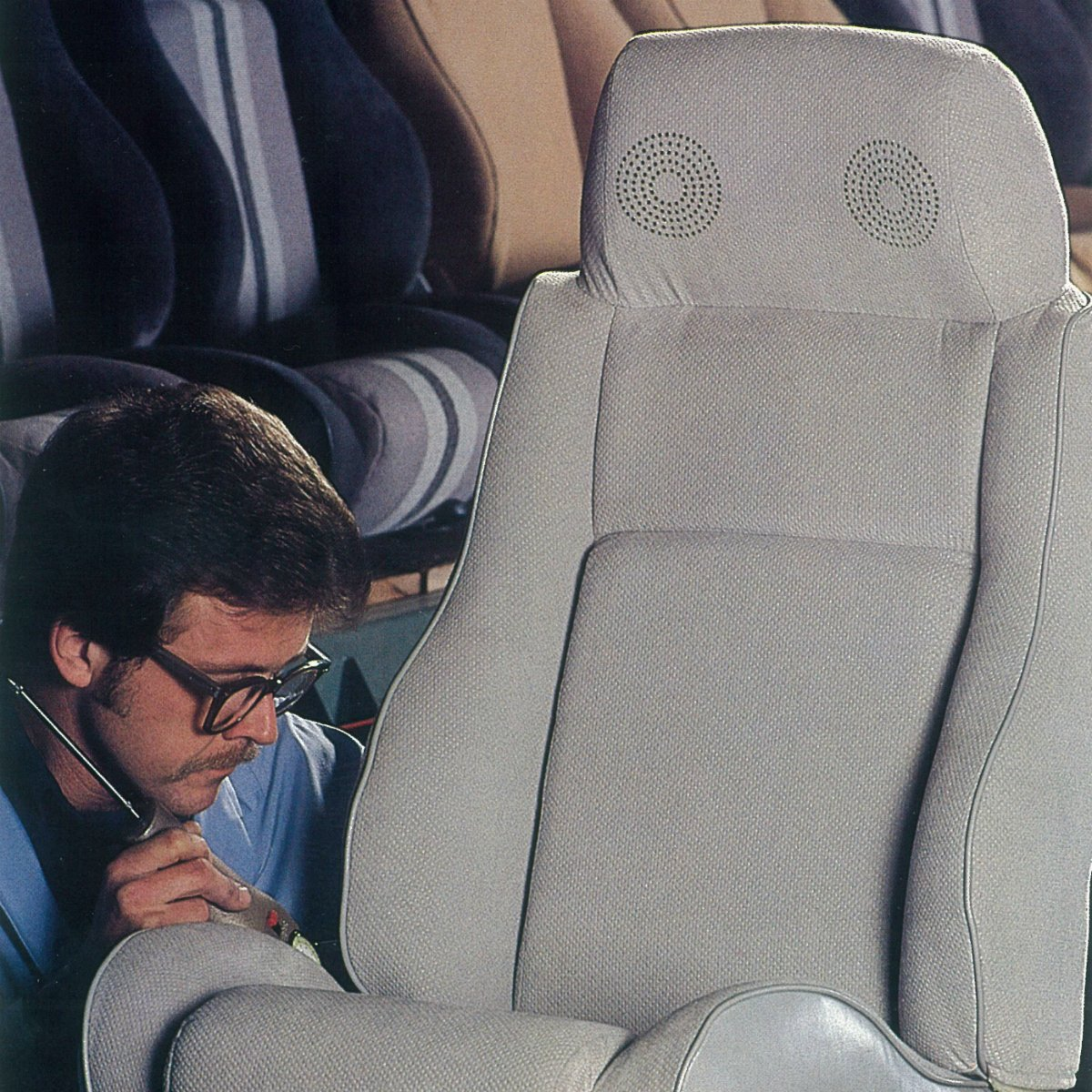 Lear Corporation On Twitter TBT To The 1980s Seats With Headrest Stereo Speakers Were Installed Into Vehicles Such As Pontiac Fiero Auto