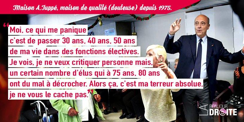 RT @bonjourladroite Merci @alainjuppe, c'était vraiment très intéressant. #LEmissionPolitique