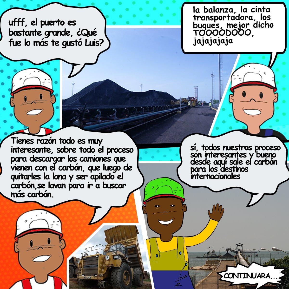 Sigue haciendo el recorrido por nuestras instalaciones con #CARBONITO tu amigo minerito #SomosCARBOZULIApic.twitter.com/cULgGdLOIa