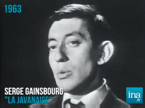 'Nous nous aimions... le temps d'une chanson' 💕 La Javanaise par Serge Gainsbourg (1963)