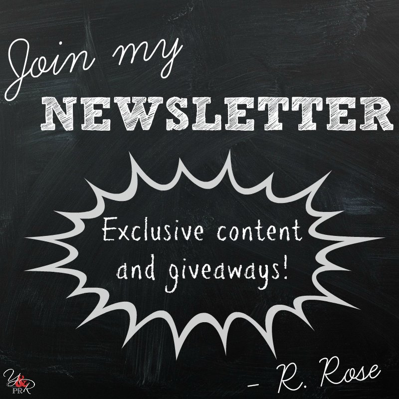 DON'T MISS MY NEWSLETTER!