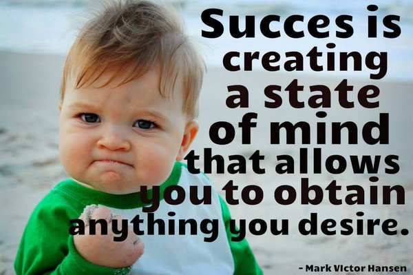 Success Is Creating... ~@MarkVHansen  MT @10MillionMiler @rebekahryanxf @davidkwilliams @spencerrayner   #spdc https://t.co/xJ2nWjOrym