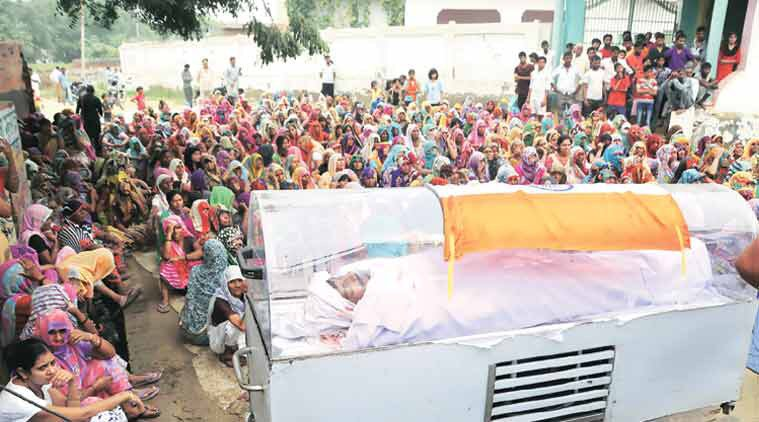 Body of Dadri lynching accused kept in freezer, under Tricolour. https://t.co/9ConQfhRTF https://t.co/6XEcjyFpsG