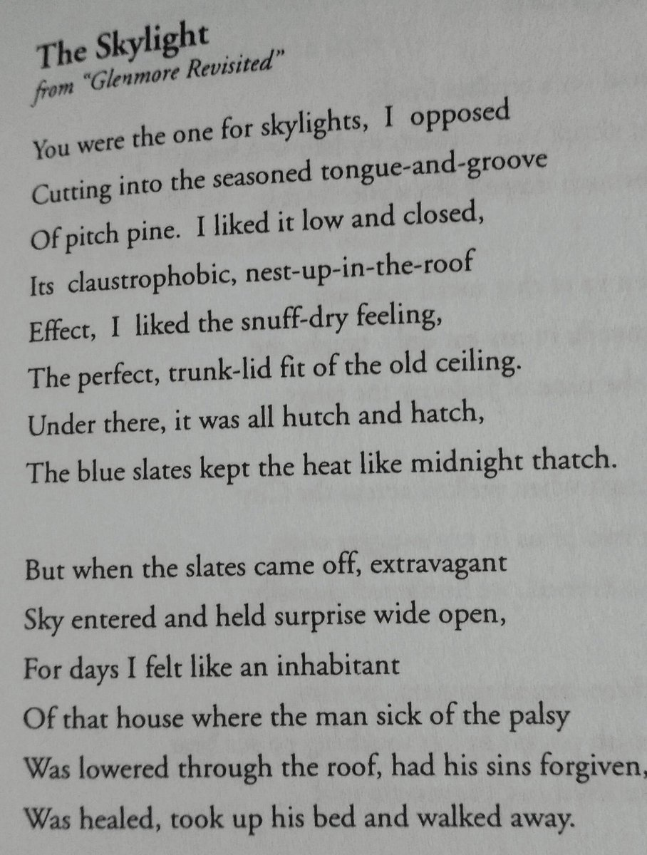 Ciarán Quinn On Twitter The Genius Of Heaney A Poem
