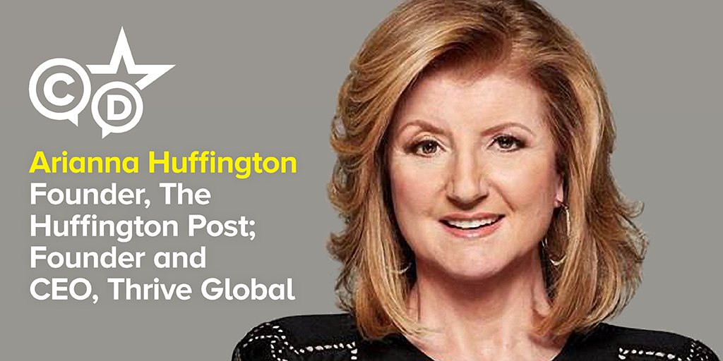 Just Announced: Arianna Huffington will deliver closing keynote at #AHIPDigital in Chicago. https://t.co/A9SVAlEzDQ