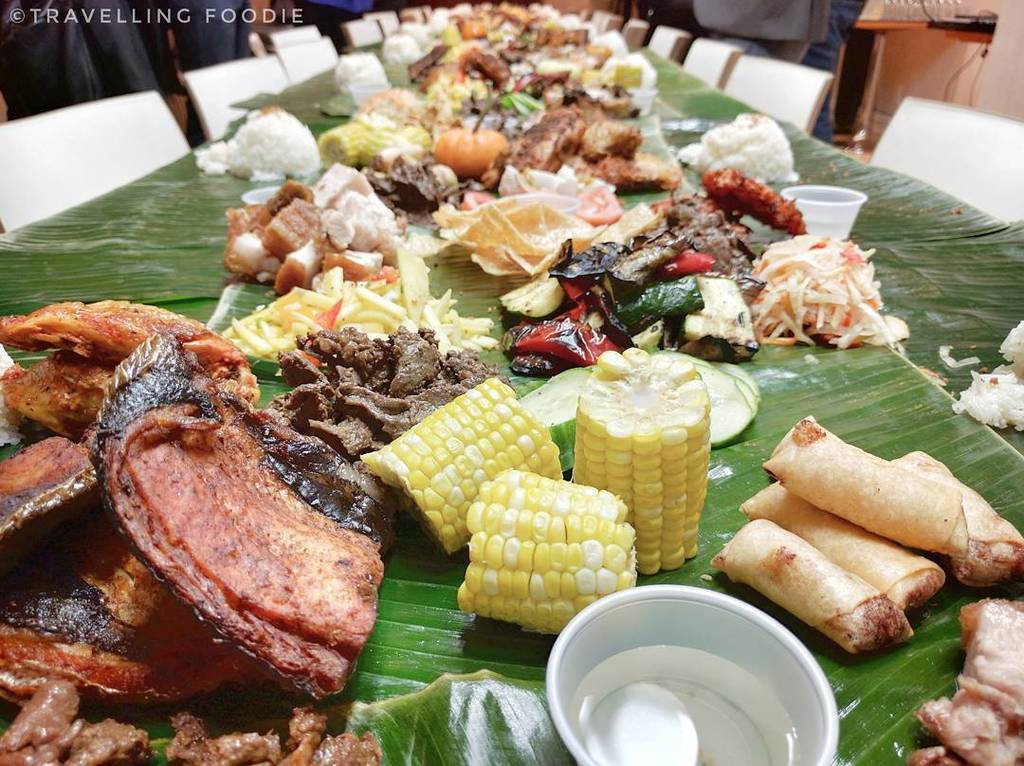 Travelling Foodie attends Early Thanksgiving Kamayan Dinner with Tita Flips