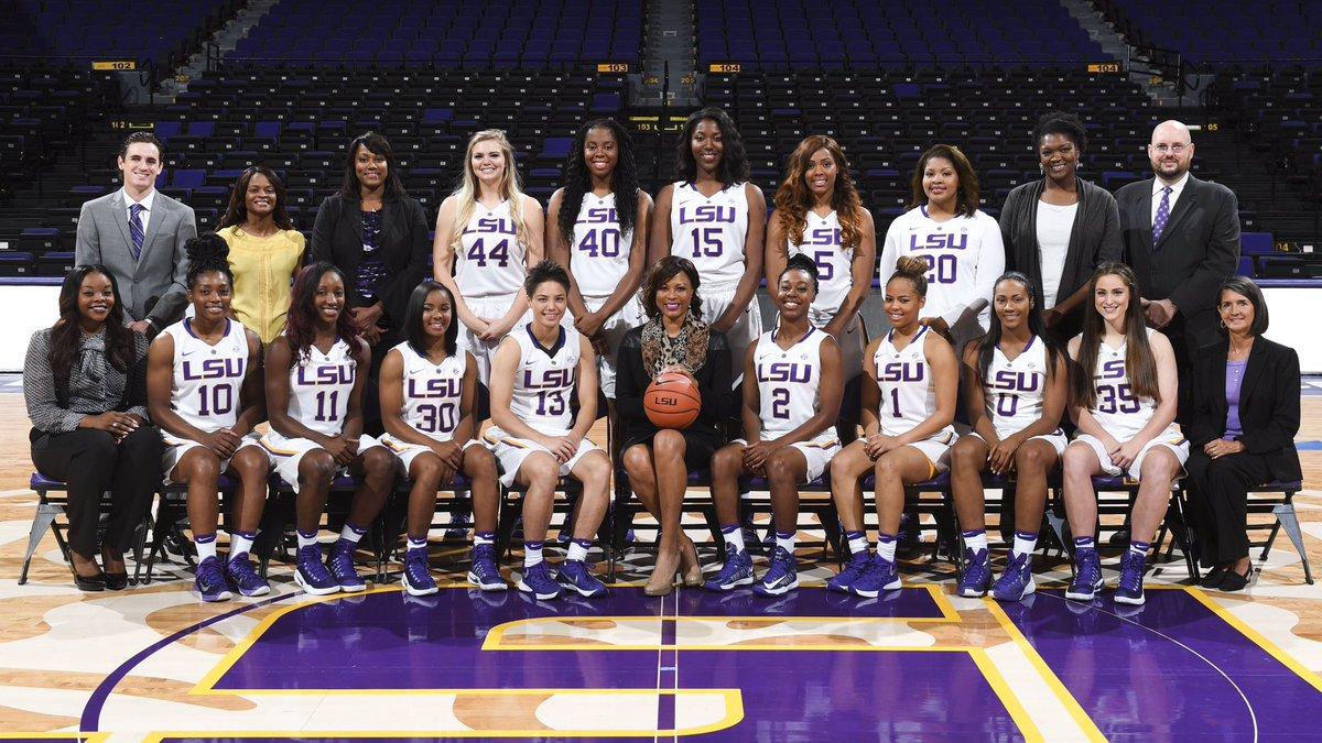 LSU Womens Basketball On Twitter Now Presenting Your 2016 17 Lady Tiger Team ALLforLSU ALLTeam