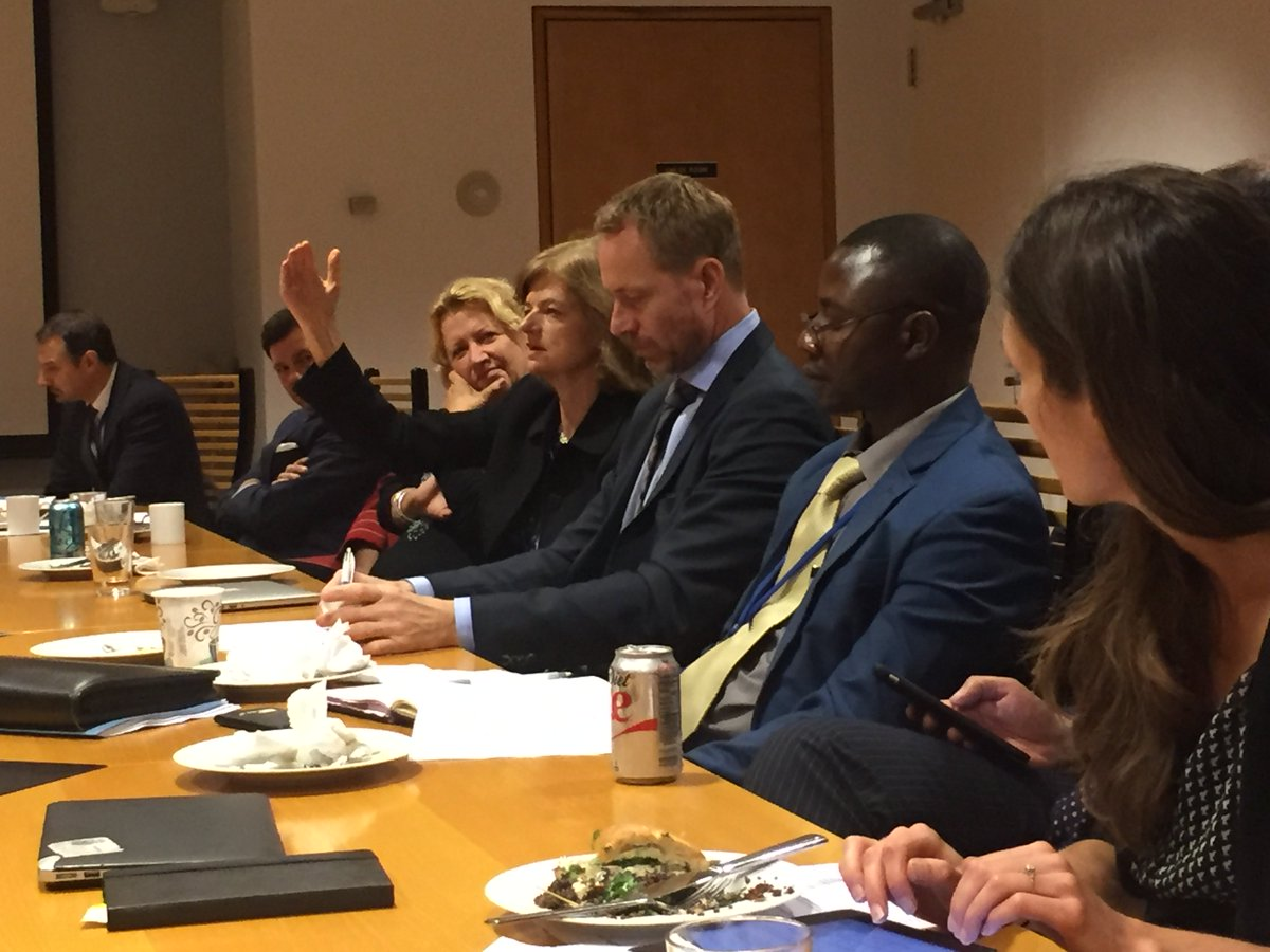 Lively discussion on how to make #UNs mediation work more gender balanced. Important job for #nextSG. Meet stand-by… https://t.co/w5ibTkpsHU