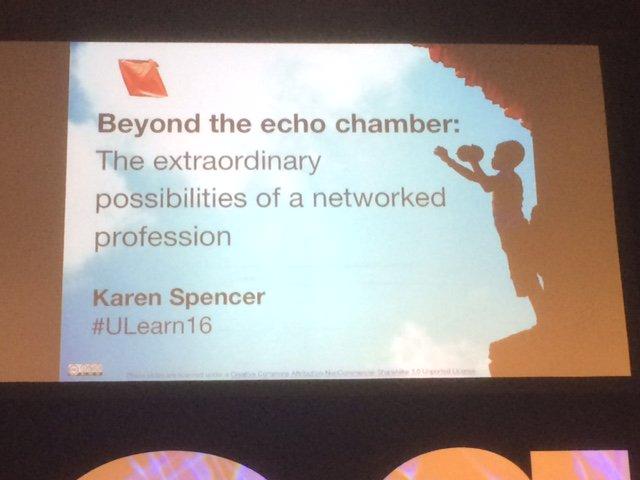 Nau mai e te tipua Karen Spencer !!! @virtuallykaren #notatulearn16, #cenz16 #ulearn16 https://t.co/J3gZIHovbJ