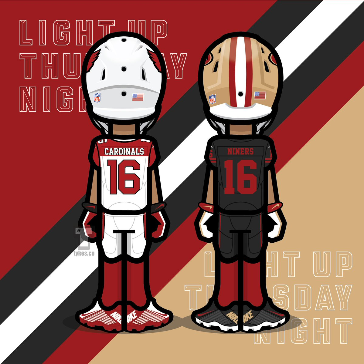 Co color cardinal red - Tykes On Twitter Arizona Cardinals Vs San Francisco 49ers Color Rush Matchup Tnf Azvssf Beredseered Colorrush Mytyke Https T Co Ypbyyk6hz7