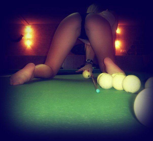 pool ball vagina
