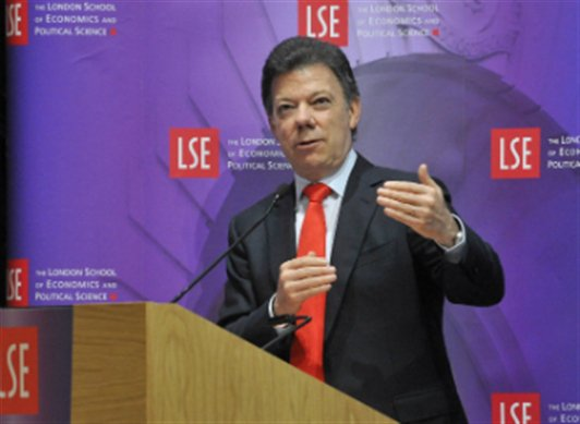 Congratulations to former LSE student @JuanManSantos on being awarded the #NobelPeacePrize https://t.co/f12TLSygFC https://t.co/RJOj5O2P9L