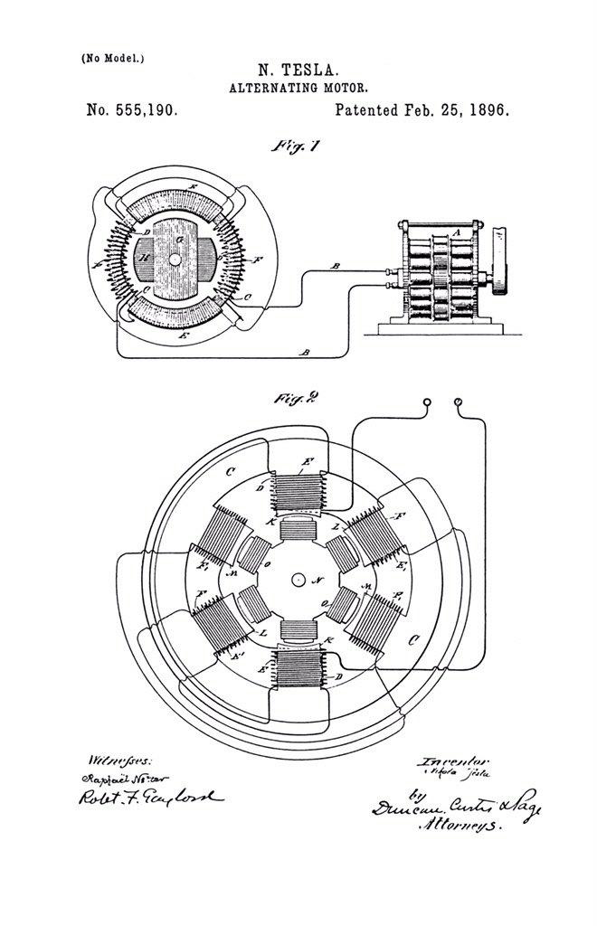 Ethan Serone On Twitter Patented Mar 22 1887 N Tesla Dynamo
