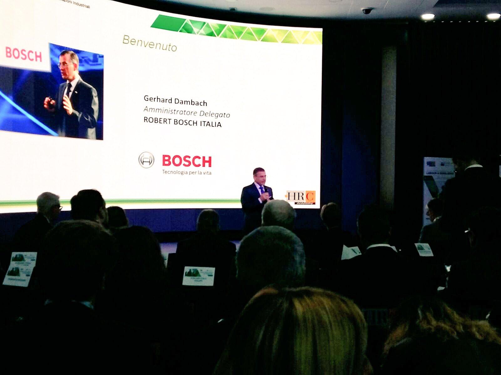 Dà il #benvenuto all' #HRCWelf2016 #Milano il CEO di #RobertBosch Italia @HRC_Academy #welfare https://t.co/ceD1RBjLl4