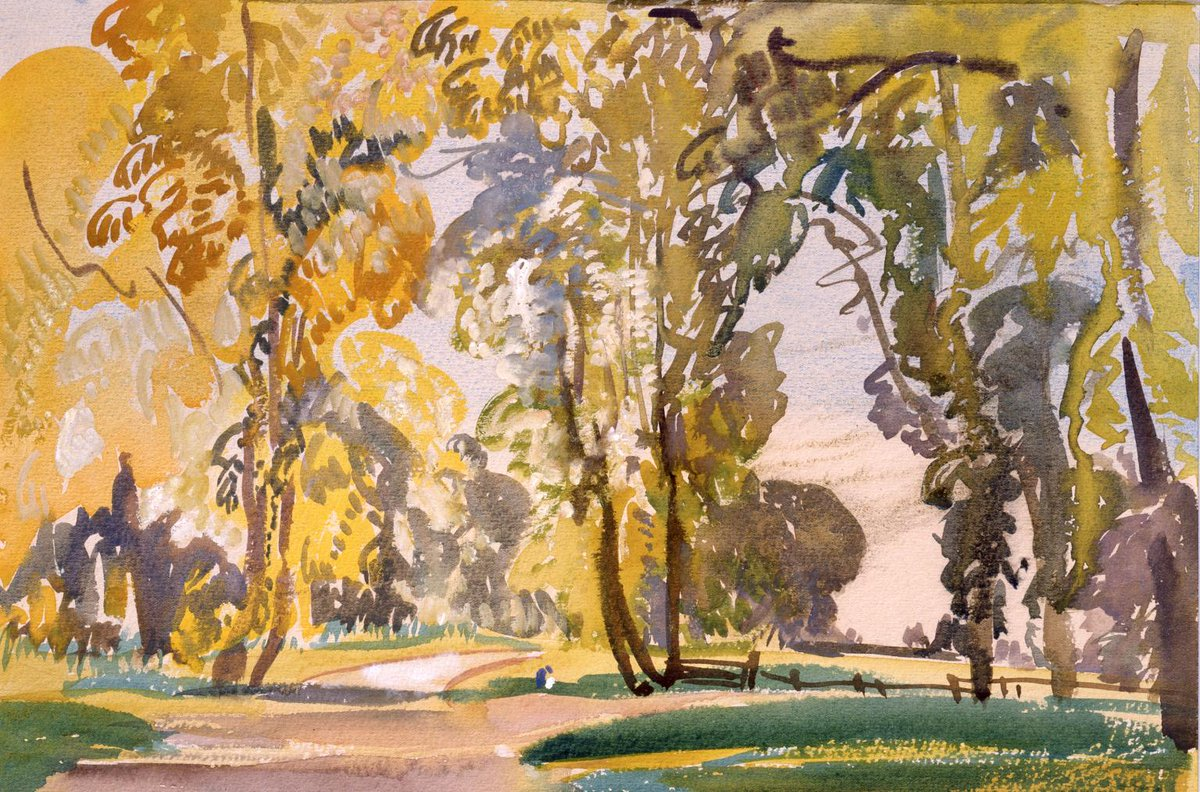 #TateWeather predicts a cloudy weekend! 99 yrs ago in October, Evelyn Cheston captured the beauty of this season… https://t.co/j5B0PercrO