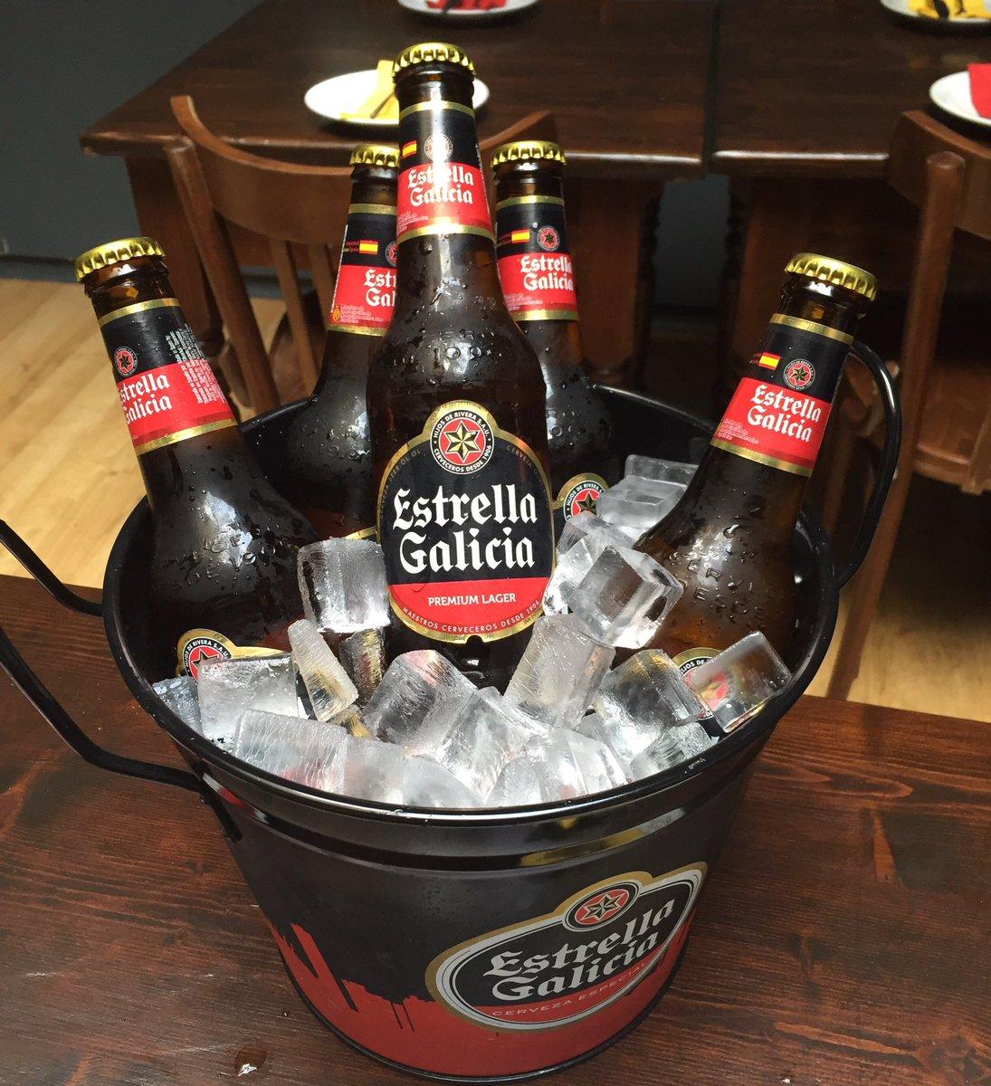 Hijos De Rivera Estrella Galicia Zero Alcohol Beer, 6 x 250 ml