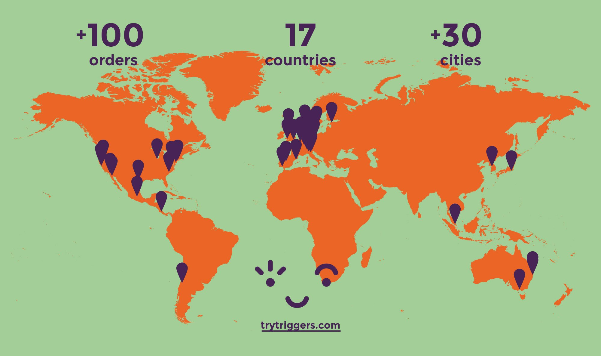 Spreading creative thinking around the world. All this happened in just two weeks 🐥 https://t.co/KdX0bfp2lG https://t.co/yzRr4M9yX6